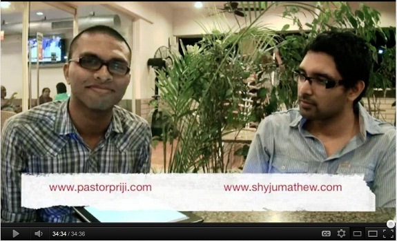 Video Interview with @ShyjuMathew on Leadership, Mentoring & Ministry