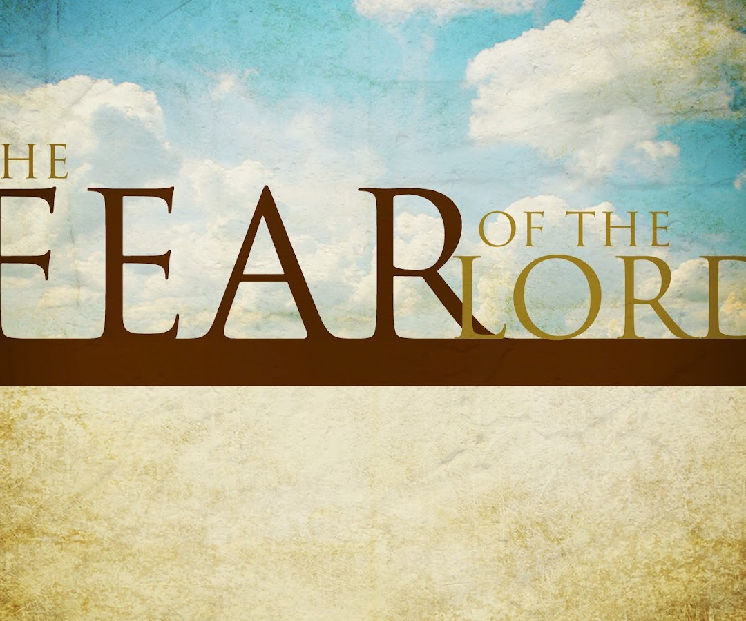 Do We Really Fear God?