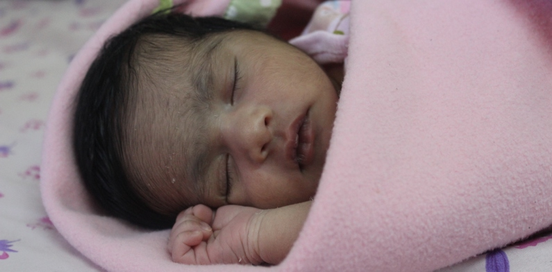 "Welcoming My Daughter ""Zahal Varghese"""