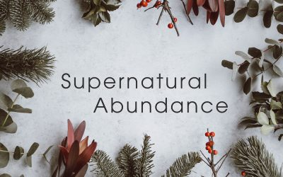 A Year of Supernatural ABUNDANCE
