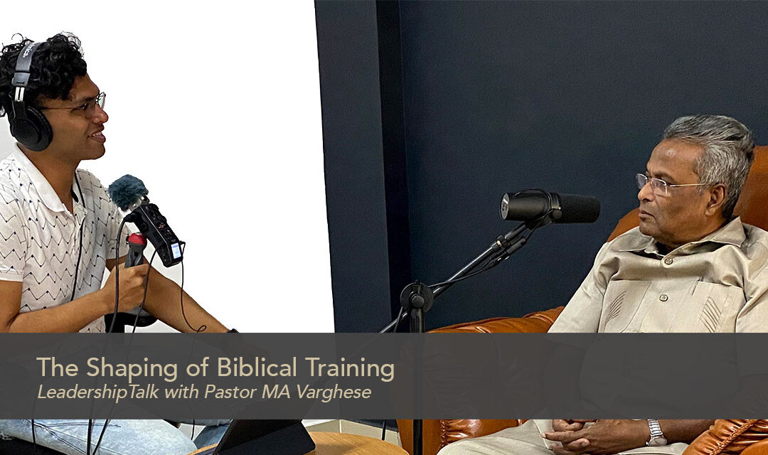 The Shaping of Biblical Training