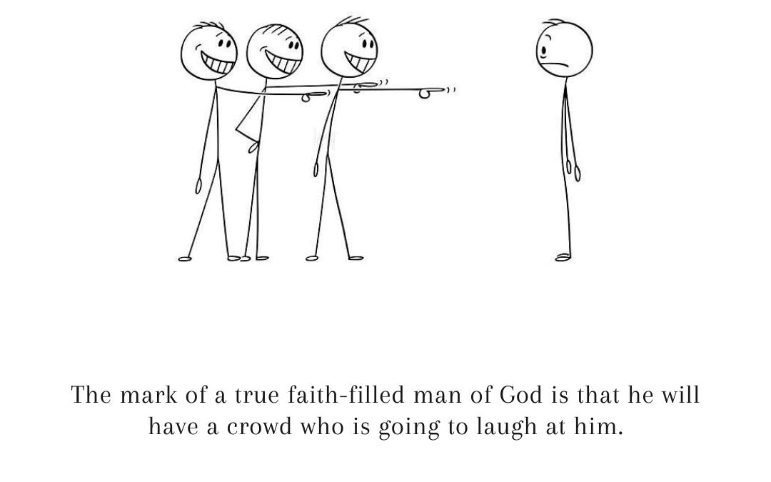 Laughter Erupting Faith